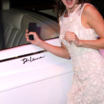 Heather Maloney digging John Lennon's Rolls Royce.